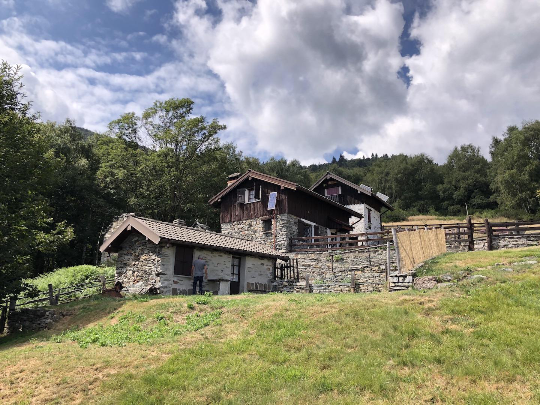 Trarego Alpe Trunno - Rustics with  land