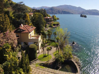 Villa directly  on the lake -  Cannero Riviera