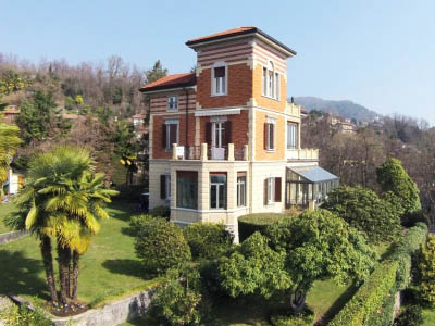Hillside Verbania, Top Villa beginning '900 with Park