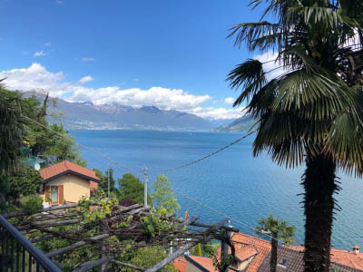 Cannobio - San Bartolomeo - Flat with garden- lakeview