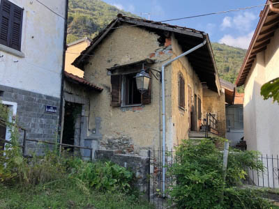 Ghiffa Deccio - Little Flat to be renovated