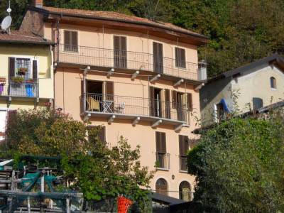 Oggebbio, Two-room-apartement with balcony and wonderful lakeview