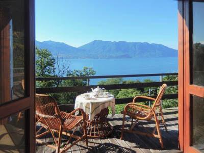 Cannero Riviera - Mini Casetta con giardino e vista lago