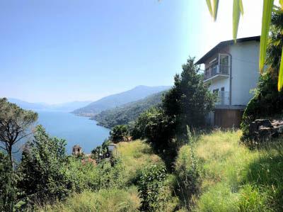 Cannobio - San Bartolomeo - Casa con due appartamenti  e giardino - vista lago